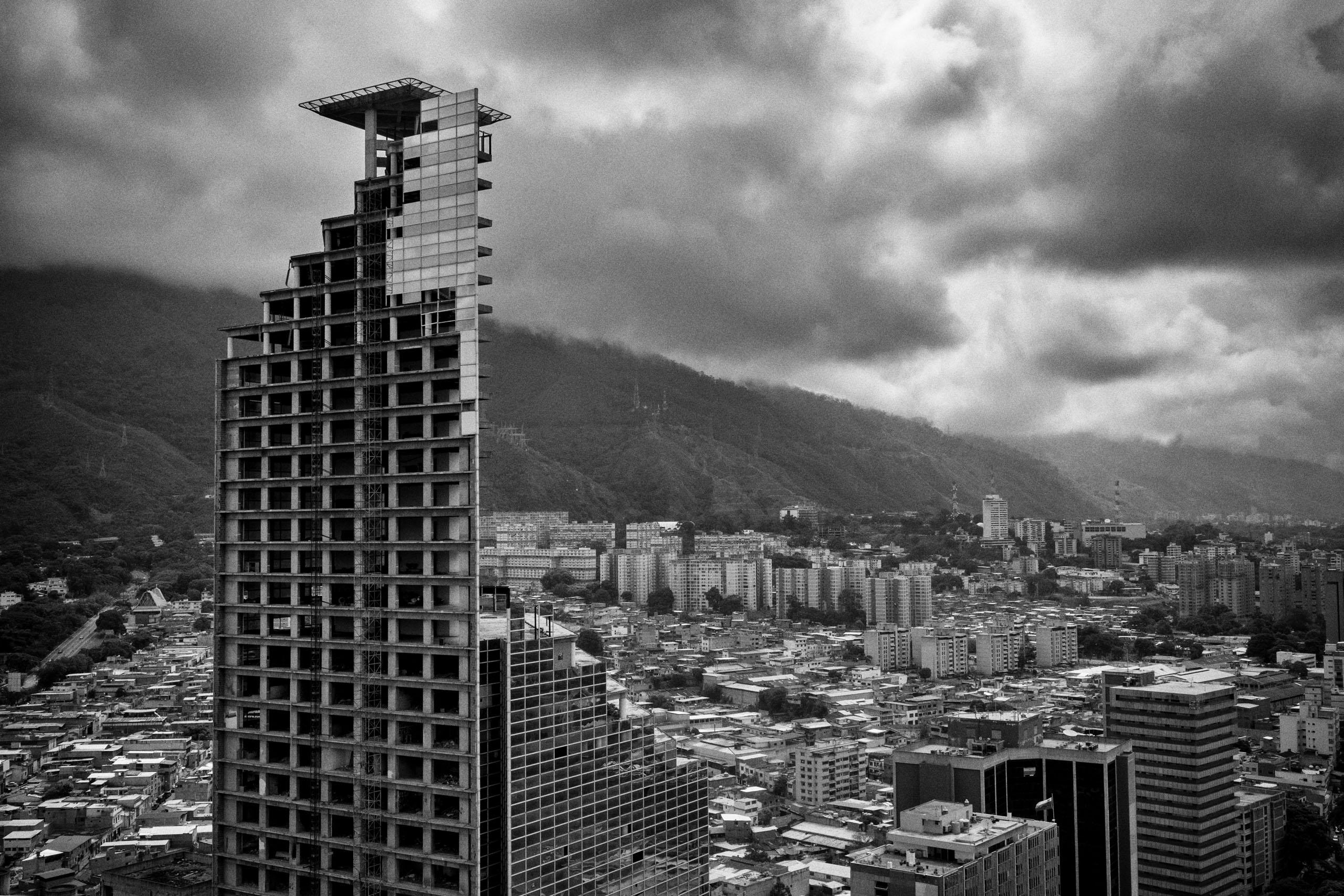 Torre David Башня Давида Каракас
