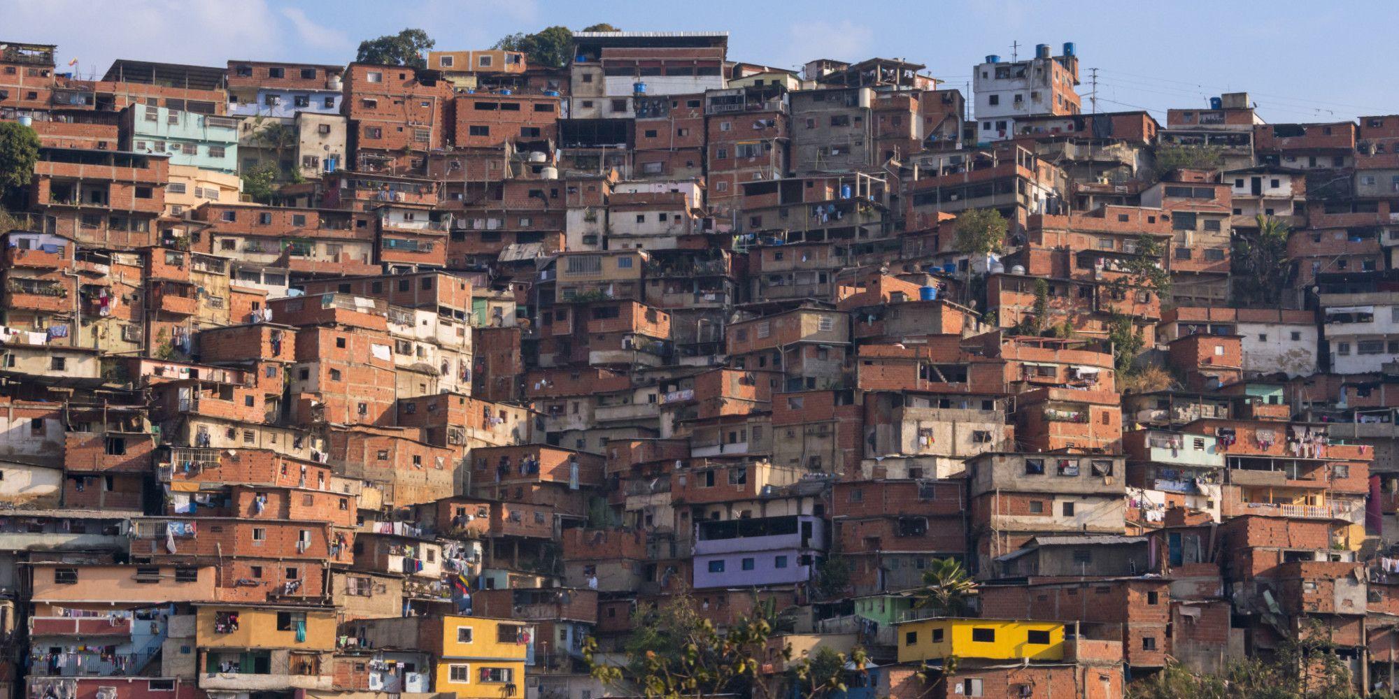 Каракас трущобы Барриос