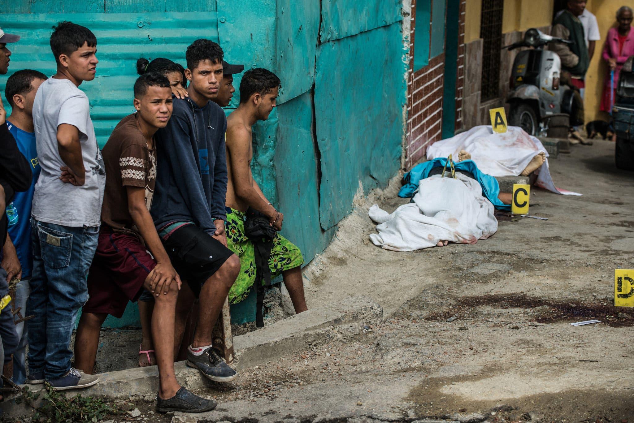 Трущобы Каракаса Барриос
